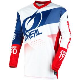 O'Neal Element Jersey Heren, wit/blauw